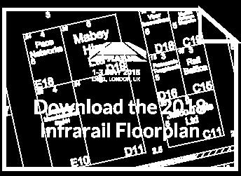 Download the Infrarail 2018 Floorplan